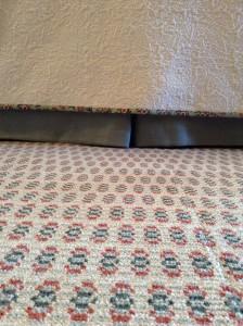 Specially woven rug