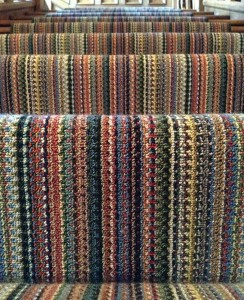 Specially woven 47-colour wool runner